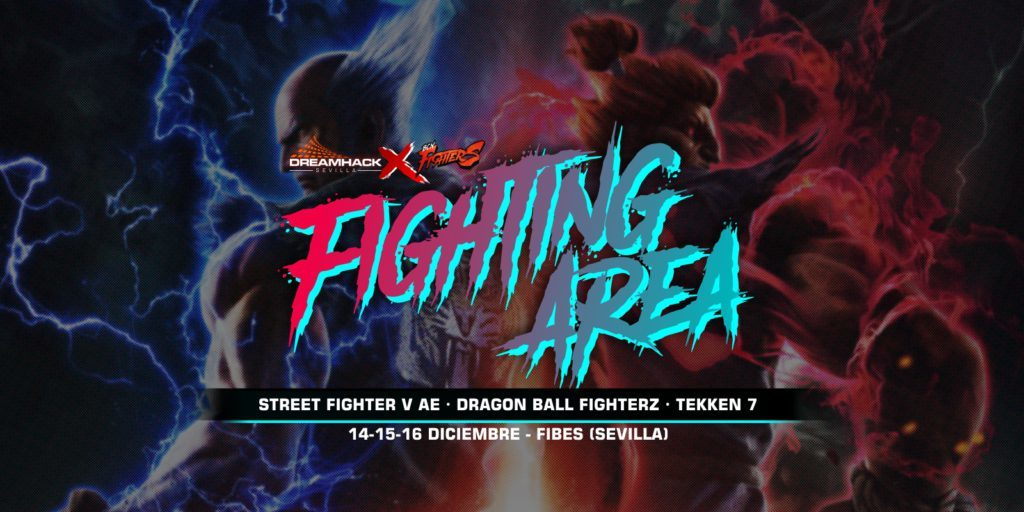 Fighting Area de DreamHack Sevilla 2018