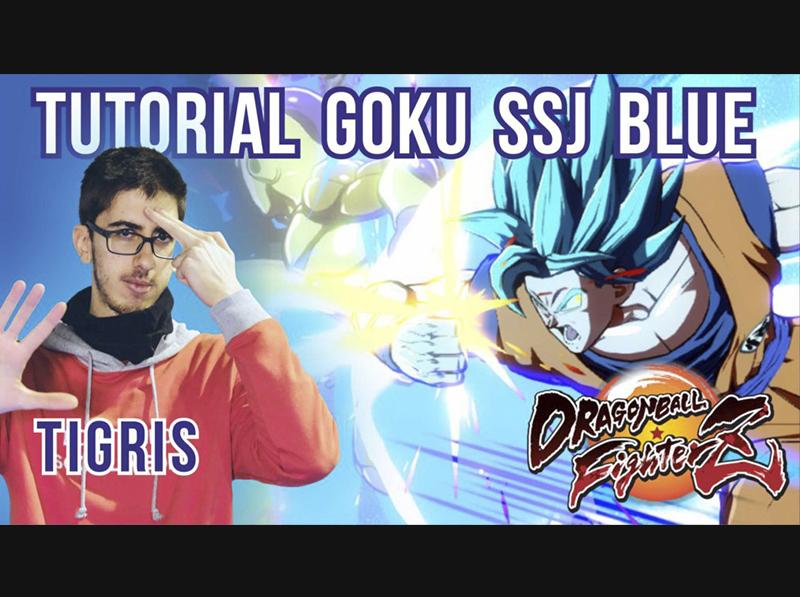 [DBFZ] GOKU BLUE con Tigris – Guía de personaje