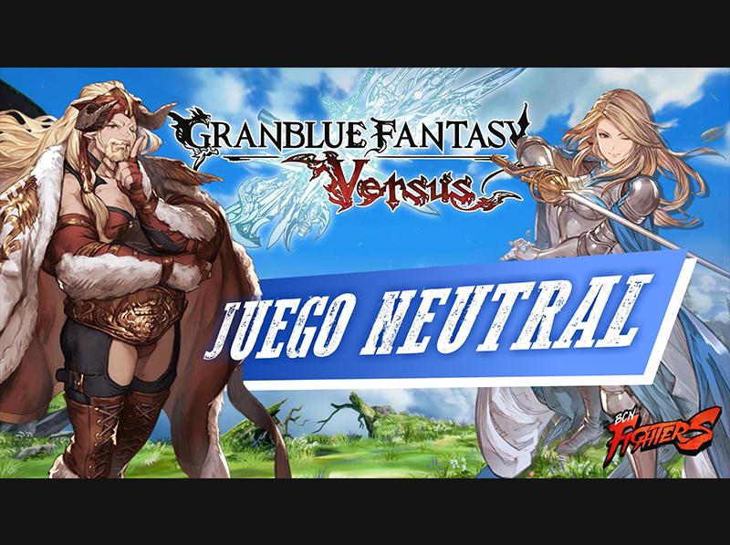 [GBVS] Juego Neutral con Sh4rin