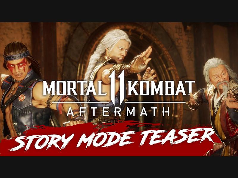 [ Mortal Kombat 11 ] AFTERMATH – STORY MODE TEASER