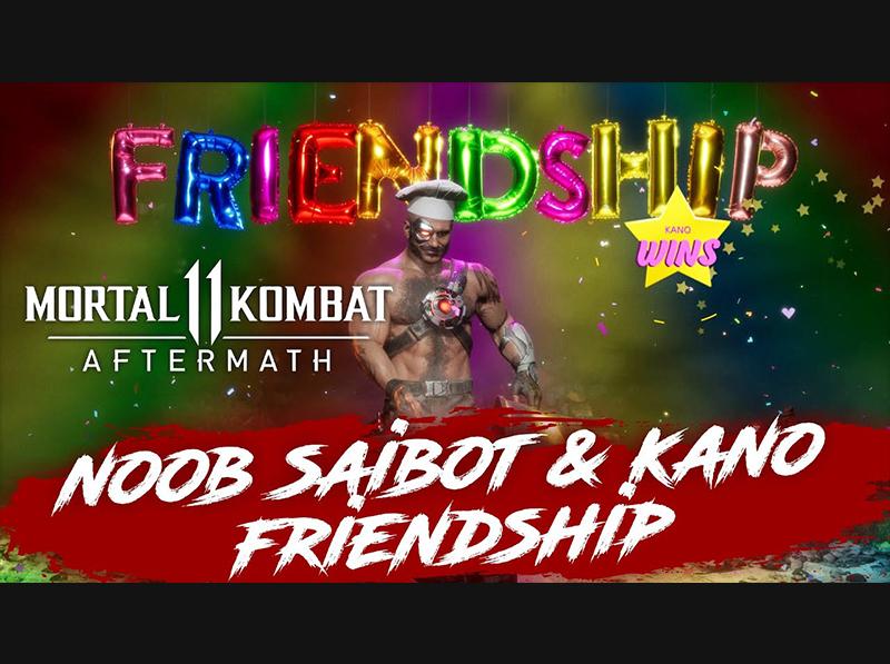 [ MORTAL KOMBAT 11 ]  AFTERMATH – NOOB SAIBOT AND KANO FRIENDSHIP