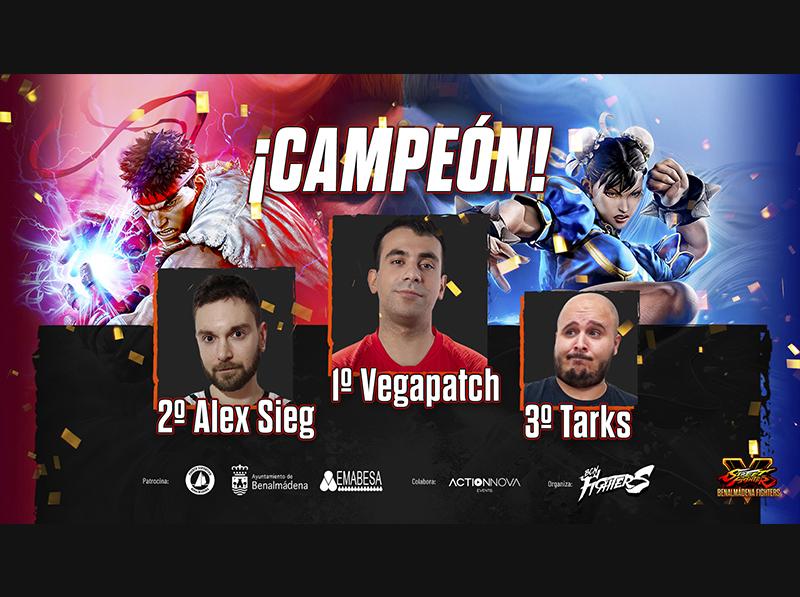 ¡VGIA| Vegapatch se lleva el torneo online gratuito de SFVCE del Benalmadena Fighters!