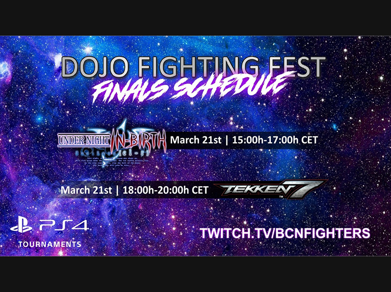 Este Domingo son las Finales del Dojo Fighting Fest | Tekken7 & UNIST